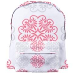 Cute Floral Design Giant Full Print Backpack
