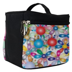 Flower Field Make Up Travel Bag (small) by TimelessFashion