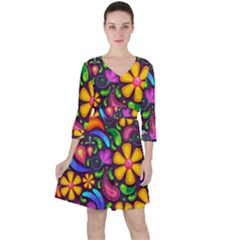 Flower Power! Ruffle Dress