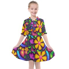 Flower Power! Kids  All Frills Chiffon Dress by TimelessFashion