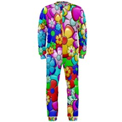 Flower With A Lot Of Power Onepiece Jumpsuit (men)  by TimelessFashion