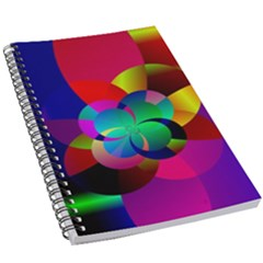 Fractal Artwork Abstract Background 5 5  X 8 5  Notebook