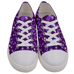 Ross Pattern Square Women s Low Top Canvas Sneakers