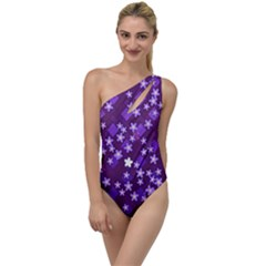 Ross Pattern Square To One Side Swimsuit
