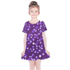 Ross Pattern Square Kids  Simple Cotton Dress