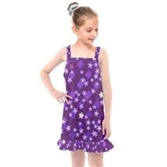 Ross Pattern Square Kids  Overall Dress