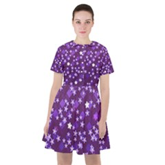 Ross Pattern Square Sailor Dress