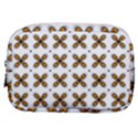 Pattern Orange Make Up Pouch (Small) View1