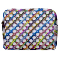 Rings Geometric Circles Random Make Up Pouch (large)