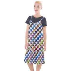 Rings Geometric Circles Random Camis Fishtail Dress
