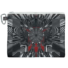 Abstract Artwork Art Fractal Canvas Cosmetic Bag (xxl)