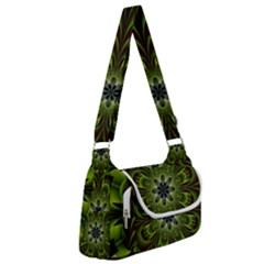 Abstract Flower Artwork Art Floral Green Multipack Bag by Sudhe
