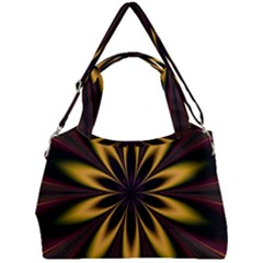 Fractal Artwork Idea Allegory Art Pattern Double Compartment Shoulder Bag