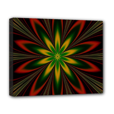 Fractal Artwork Idea Allegory Art Deluxe Canvas 20  X 16  (stretched)