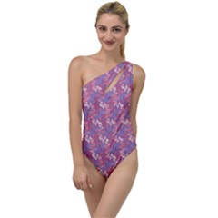 Funny Design To One Side Swimsuit by TimelessFashion