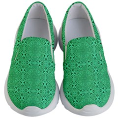 Green Harmony Kids  Lightweight Slip Ons by TimelessFashion