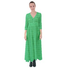 Green Harmony Button Up Maxi Dress by TimelessFashion