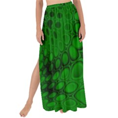 Background Texture Design Geometric Green Black Maxi Chiffon Tie Up Sarong by Sudhe