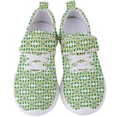 Green Leafs 1 Women s Velcro Strap Shoes by TimelessFashion