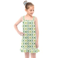 Green Leafs 2 Kids  Overall Dress by TimelessFashion