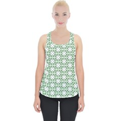 Green Leafs 3 Piece Up Tank Top