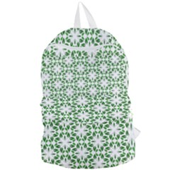 Green Leafs 3 Foldable Lightweight Backpack