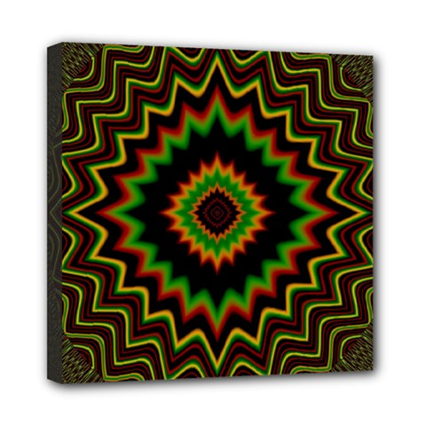 Fractal Artwork Idea Allegory Abstract Mini Canvas 8  X 8  (stretched)