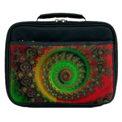 Abstract Fractal Pattern Artwork Art Lunch Bag by Sudhe