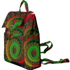 Abstract Fractal Pattern Artwork Art Buckle Everyday Backpack by Sudhe