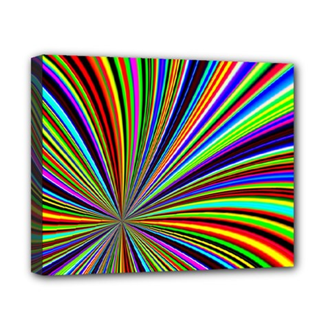 Background Design Pattern Colorful Canvas 10  X 8  (stretched)