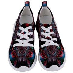 Abstract Flower Artwork Art Women s Lightweight Sports Shoes