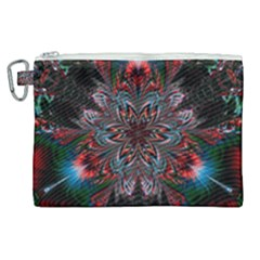 Abstract Flower Artwork Art Canvas Cosmetic Bag (xl) by Sudhe