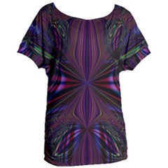 Abstract Abstract Art Fractal Women s Oversized Tee