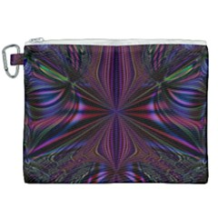 Abstract Abstract Art Fractal Canvas Cosmetic Bag (xxl) by Sudhe