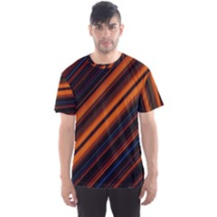 Background Pattern Lines Men s Sports Mesh Tee