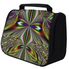 Abstract Art Fractal Pattern Full Print Travel Pouch (big)