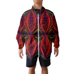 Abstract Art Fractal Kids  Windbreaker