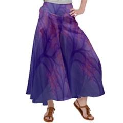 Art Fractal Artwork Creative Satin Palazzo Pants by Pakrebo