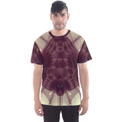 Abstract Art Artwork Fractal Men s Sports Mesh Tee