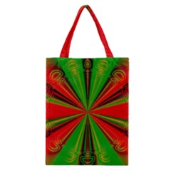 Abstract Art Fractal Modern Art Classic Tote Bag by Pakrebo