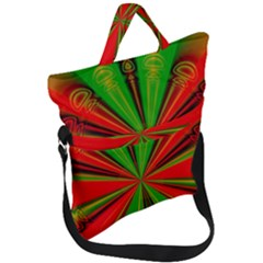 Abstract Art Fractal Modern Art Fold Over Handle Tote Bag