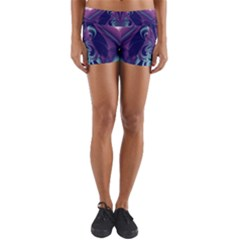 Design Art Digital Art Artwork Yoga Shorts