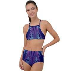 Design Art Digital Art Artwork High Waist Tankini Set by Pakrebo