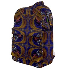 Abstract Art Artwork Fractal Classic Backpack by Pakrebo