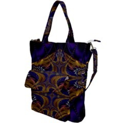 Abstract Art Artwork Fractal Shoulder Tote Bag