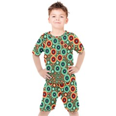 Zappwaits Kids  Tee And Shorts Set by zappwaits