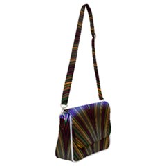 Design Silky Dynamic Elegance Shoulder Bag With Back Zipper