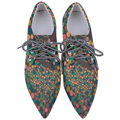 Zappwaits Art Pointed Oxford Shoes by zappwaits