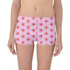 Texture Star Backgrounds Pink Boyleg Bikini Bottoms by HermanTelo