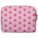 Texture Star Backgrounds Pink Make Up Pouch (Large) View2
